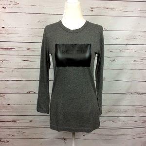 [Zara W&B Collection] Long Sleeve Précieux TShirt